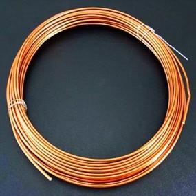 Alu drátek oranžový 1,0mm (3m)