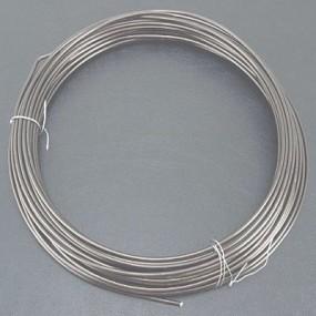 Alu drátek šedý 1,0mm (3m)