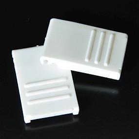 Zavírání pro BOX S / M / L bílé (2 ks)