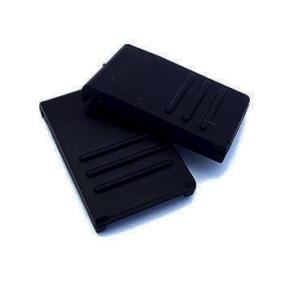 Zavírání pro BOX S / M / L černé (2 ks)