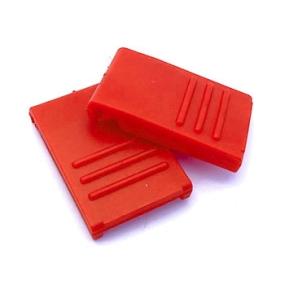 Zavírání pro BOX S / M / L červené (2 ks)