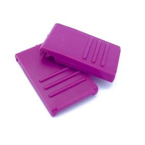 Zavírání pro BOX S / M / L fialové (2 ks)