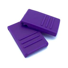 Zavírání pro BOX S / M / L tmavě fialové (2 ks)