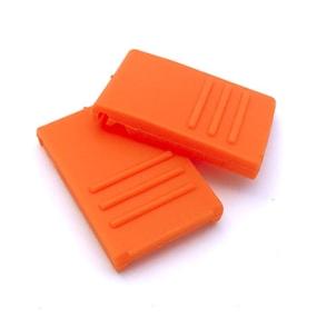 Zavírání pro BOX S / M / L oranžové (2 ks)