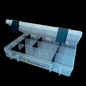 Box na korálky / komponenty černý