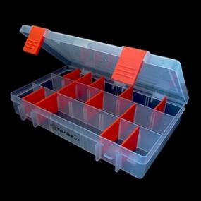 Box na korálky / komponenty oranžový