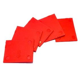 Přihrádky pro BOX vel. M červené (5 ks)
