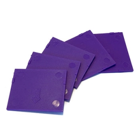 Přihrádky pro BOX vel. M tmavě fialové (5 ks)