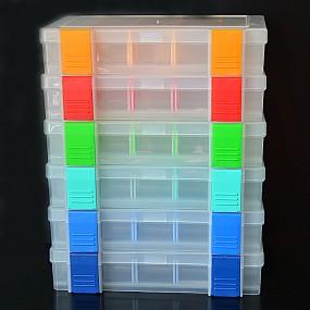 Box na korálky / komponenty 5 + 1 zdarma