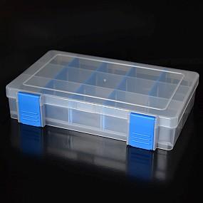 Box na korálky / komponenty světle modrý