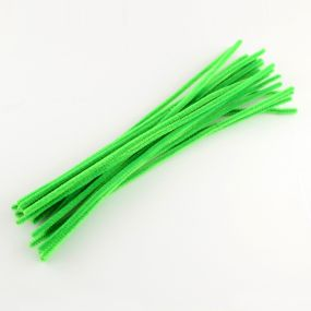 Chlupatý drátek světle zelený