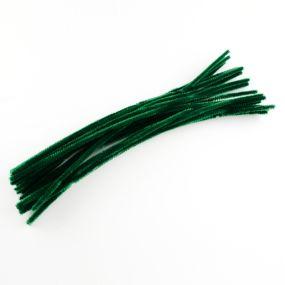 Chlupatý drátek tmavě zelený