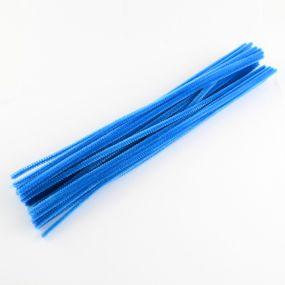 Chlupatý drátek modrý