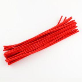 Chlupatý drátek červený