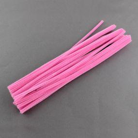 Chlupatý drátek světle růžový