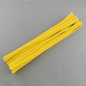 Chlupatý drátek žlutý