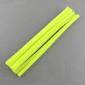 Chlupatý drátek zářivě žlutý