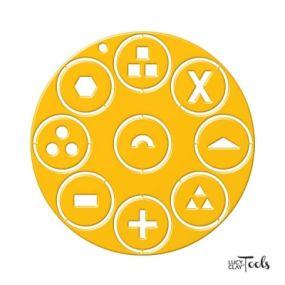 Sada disků do extrudéru - žlutá