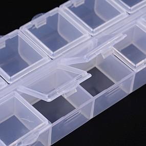 Dóza / krabička na korálky desetidílná