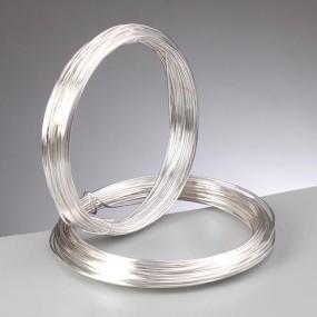 Drátek stříbrná b. 0,4mm (20m)