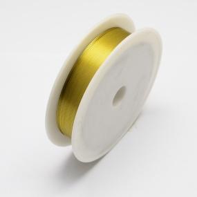 Drátek žlutý 1,0mm (2,5m)