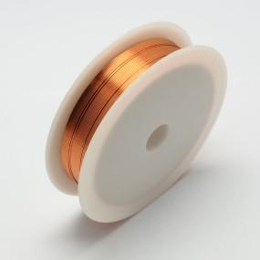 Drátek oranžový 0,5mm (8m)