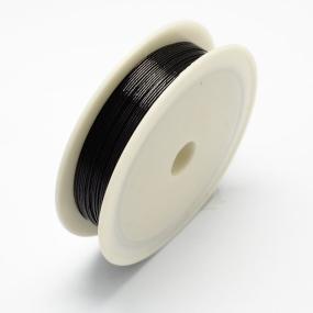 Drátek černý 0,6mm (6m)