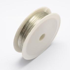 Drátek stříbrná b. 0,6mm (6m)
