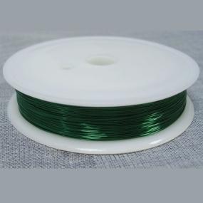Drátek zelený 0,6mm (6m)