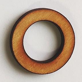 Dřevěný kruh / obruč na lapač snů přírodní 1,4 cm