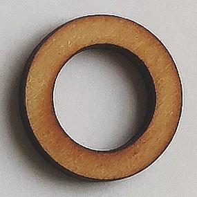 Dřevěný kruh / obruč na lapač snů přírodní 2,3 cm