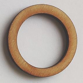 Dřevěný kruh / obruč na lapač snů přírodní 3,1 cm