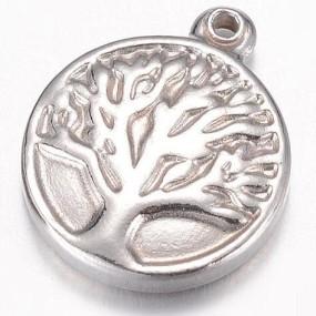 Přívěsek strom života 16x13mm chirurgická ocel