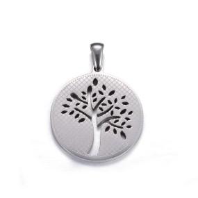 Přívěsek strom života 28x25mm chirurgická ocel