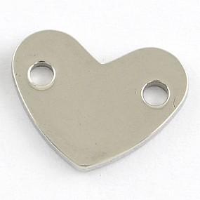Mezidíl srdce 14x11mm chirurgická ocel