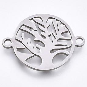 Mezidíl strom života 23x17mm chirurgická ocel