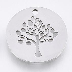 Přívěsek strom života 18x16mm chirurgická ocel
