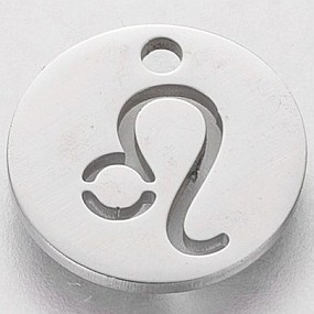 Přívěsek znamení zvěrokruhu - lev 13x13mm chirurgická ocel
