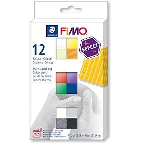 FIMO effect sada 12 barev 25g Basic
