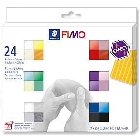 FIMO Effect sada 24 barev 25g
