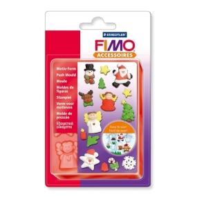 FIMO soft vánoční sada + vytlačovací forma zdarma