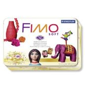 FIMO soft sada kovový box retro