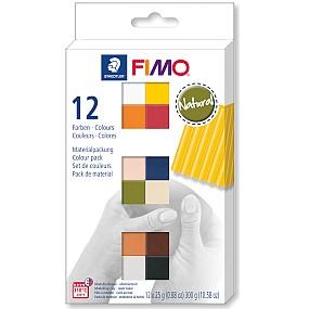 FIMO soft sada 12 barev 25g Natural