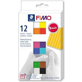 FIMO soft sada 12 barev 25g Basic