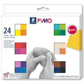 FIMO soft sada 24 barev 25g Basic