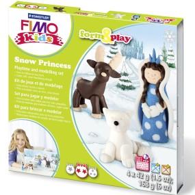 FIMO Kids Form&Play Sněhová princezna