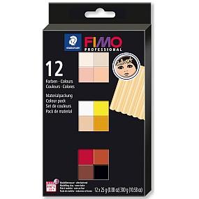 FIMO professional 12 barev 25g DOLL ART