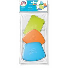 FIMO Kids řezací a texturovací nástroje