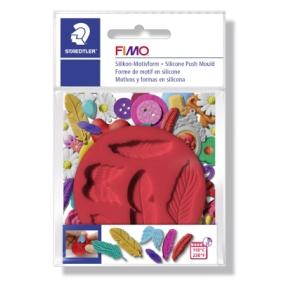 FIMO silikonová vytlačovací forma peříčka
