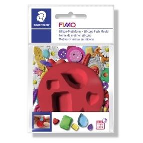 FIMO silikonová vytlačovací forma drahokamy